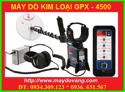 BÁN MÁY DÒ KIM LOẠI GPX- 4500